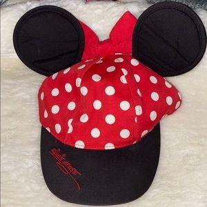 Minnie Mouse Little Girls Polka Dot Baseball hat